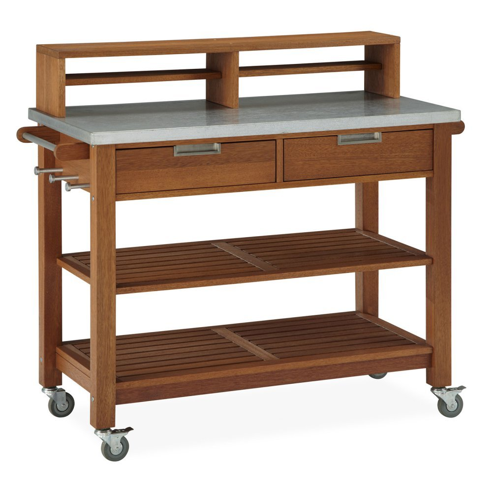 Home Styles Bali Hai Bar Cart / Potting Bench by Home Styles