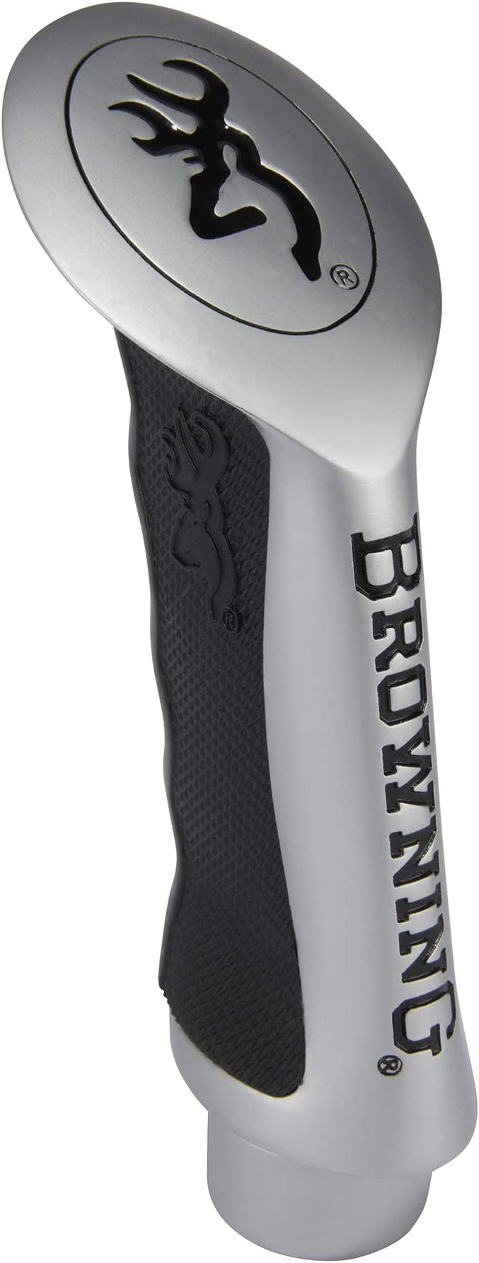 Brushed Charcoal Pistol Grip Shifter Handle Knob Column /& Floor Shift