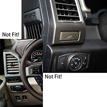 For Toyota Highlander 2015-2019 carbon fiber Navigation panel air outlet trim