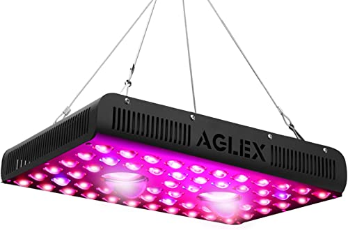 1200W COB LED Grow Light, Full Spectrum IR Reflector Series Plant Grow Lamp, with Daisy Chain, Veg and Bloom Switch, for Hydroponic Greenhouse Indoor Plant Veg and Flower