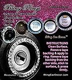Bling Car Decor Pink Crystal Rhinestone Car Bling