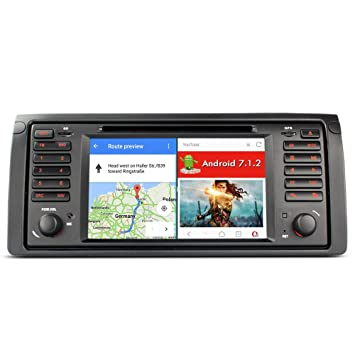 A Sure Android 511 Car Radio GPS DAB DVD Bluetooth Sat Nav 3G