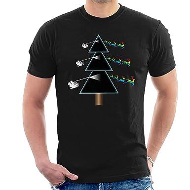 Cloud City 7 Pink Floyd Dark Side Of The Christmas Tree Mens T