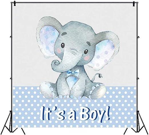 Ofila Jungen Elefant Baby Shower Hintergrund 1 52 X Kamera