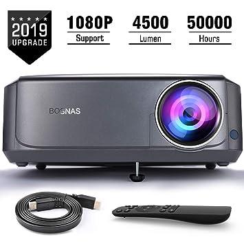 Proyector de Cine LCD para Cine en el hogar 50000 Horas Soporta ...