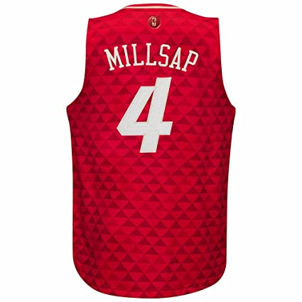 e1d5110ec81 Paul Millsap Atlanta Hawks NBA Adidas Men s Red 2015 Christmas Day Swingman  Climacool Jersey (S