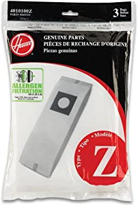 Hoover Type Z Allergen Bag (9-Pack), 4010100Z