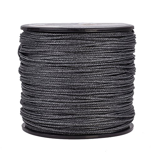 HERCULES Super Cast 100M 109 Yards Braided Fishing Line 300 LB Test for Saltwater Freshwater PE Braid Fish Lines Superline 8 Strands - Black, 300LB (136.1KG), 1.20MM