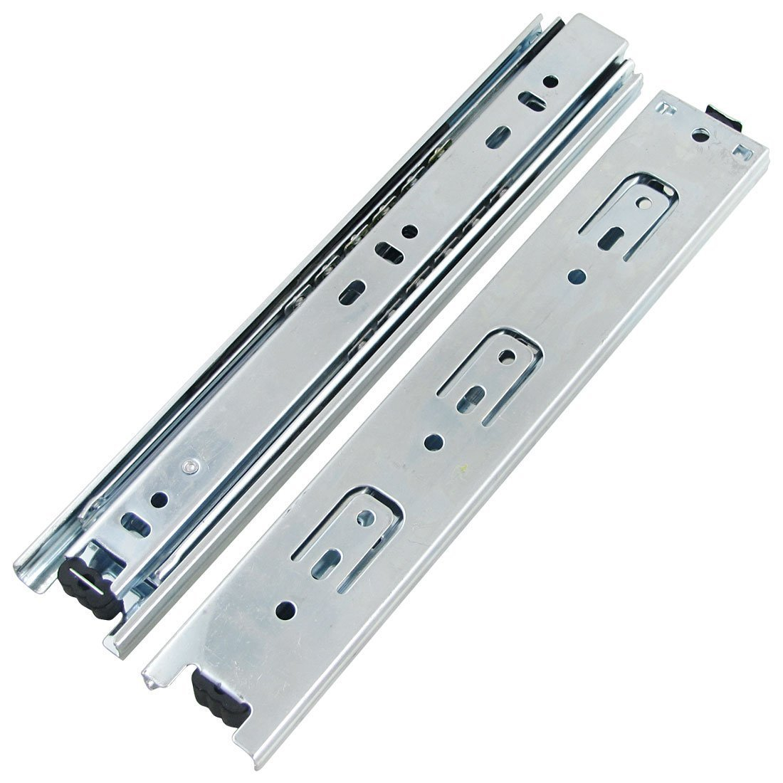 "URBEST®Pair 9"" Full Extension Ball Bearing Telescopic Drawer Slides Slide Rails"