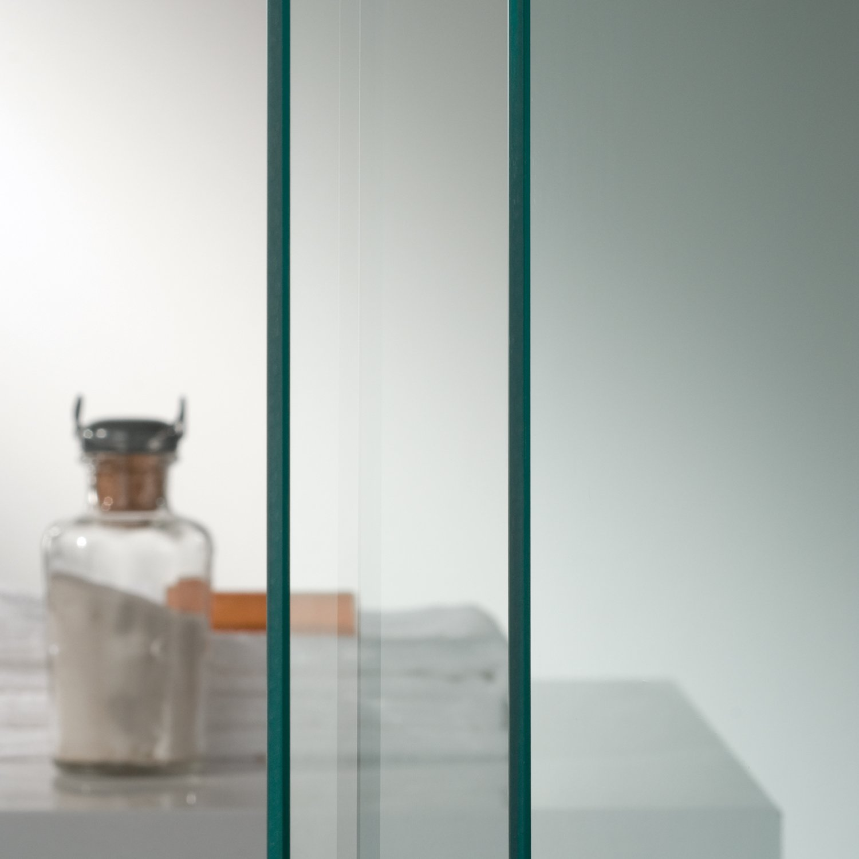 Idralite Box Mampara de Ducha Rectangular 70x100 H185 Transparente 6mm Mod Ready