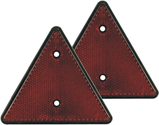 Hp Autozubehör 10231 Dreieck Rückstrahler Set 2 Stück Auto