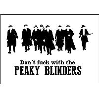 Hunnry Peaky Blinders Póster De Pared Metal Vintage