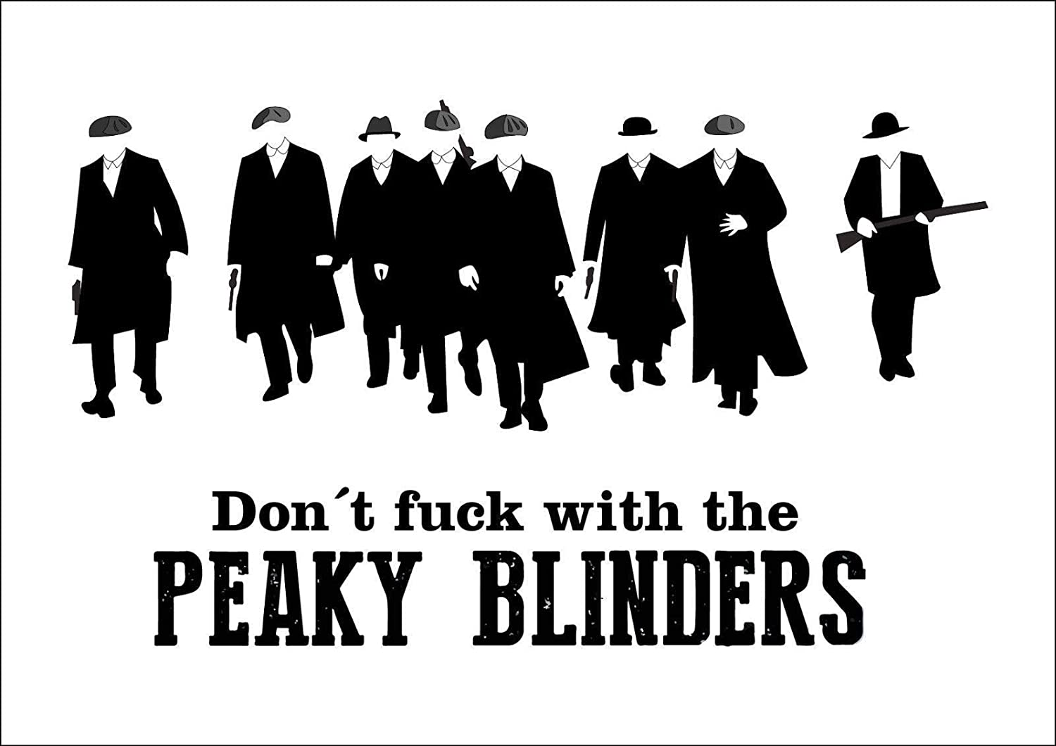 HALEY GAINES Peaky Blinders Placa Cartel Póster de Pared ...