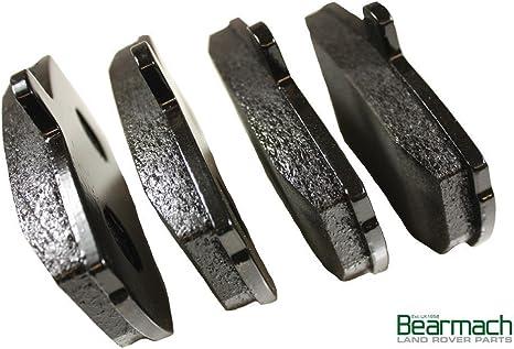 Quiet Low Dust Ceramic Brake Pads Kit 4 Premium Loaded OE Caliper Assembly Set + 2 CCK03269 REAR