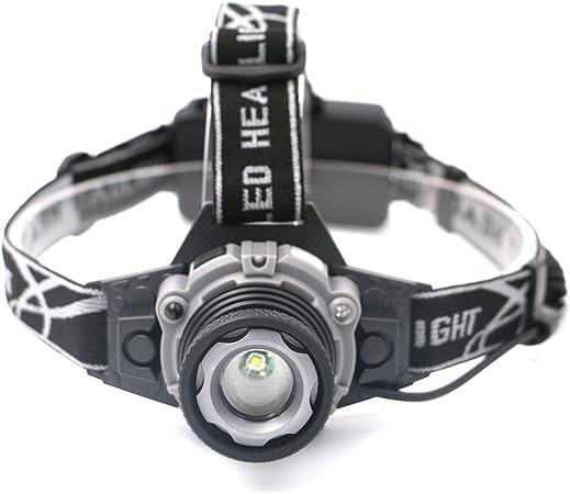 seitor LED potente linterna Zoom ajustable lámpara recargable ...