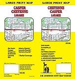 Cheyenne / Casper / Laramie, Wyoming Street Map