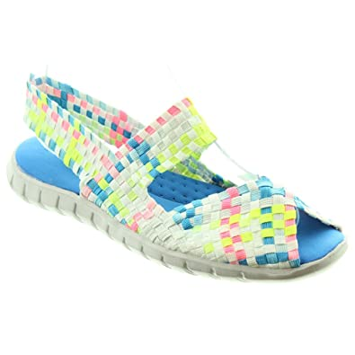 310b4fc9 Adesso Ladies Nori Sandals In Iced: Amazon.co.uk: Shoes & Bags