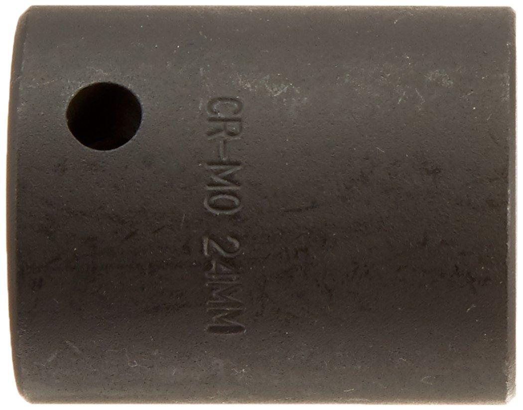 Sunex 224zm 1//2-Inch Drive 24-mm 12-Point Impact Socket