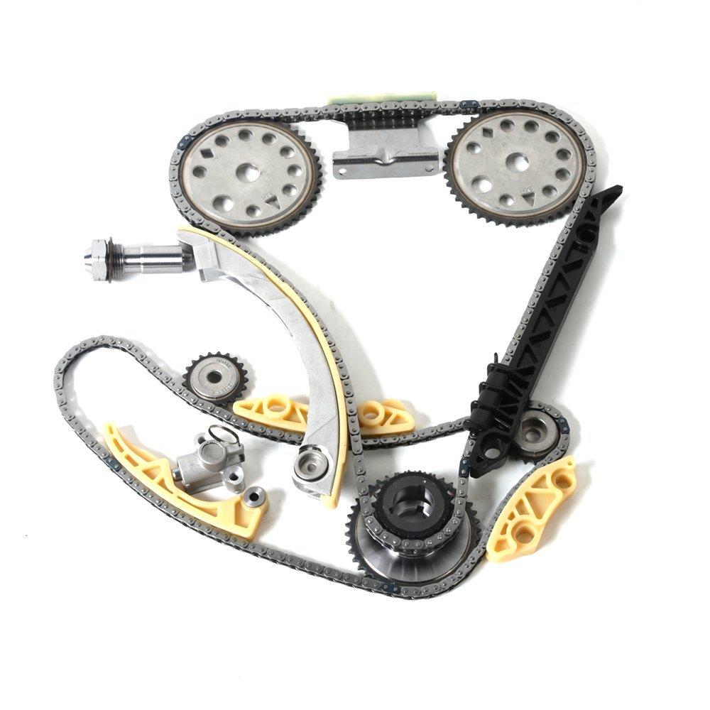 Moca Timing Chain Kit 9 4201s For 02 10 Chevrolet Cobalt Belt Pontiac Sunfire Hhr Cavalier Oldsmobile Alero Grand Am 22l L4 Automotive
