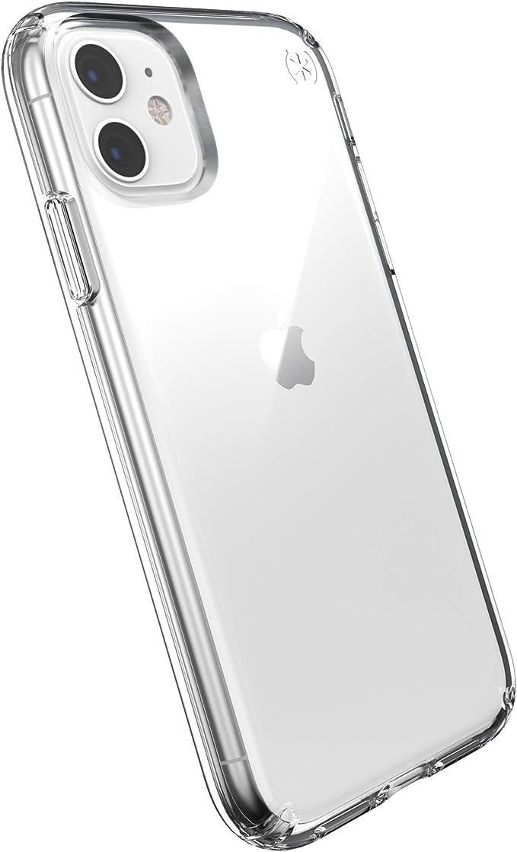 Speck Iphone 11 Schutzhülle Handyhülle Schützende Hülle Tasche Dünne Schale Hardcase Beständig Für Apple Iphone 11 Presidio Stay Clear Transparent Elektronik