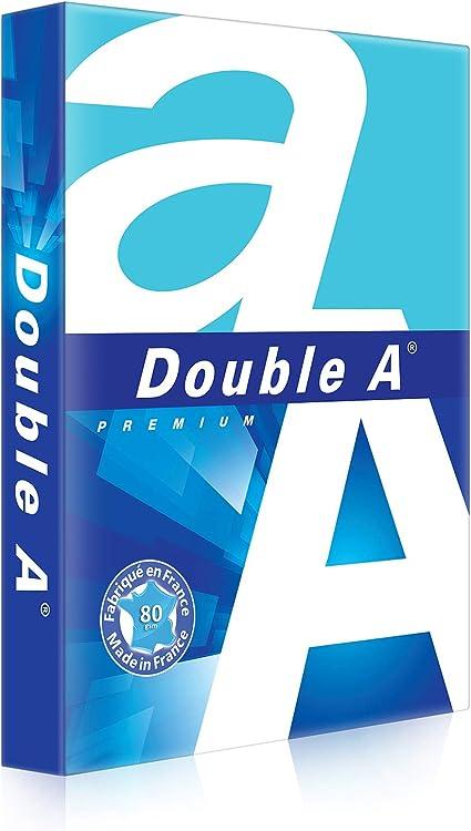Double A DA000059SINGLE - Papel para fotocopiadoras (500 hojas A4), blanco: Amazon.es: Oficina y papelería