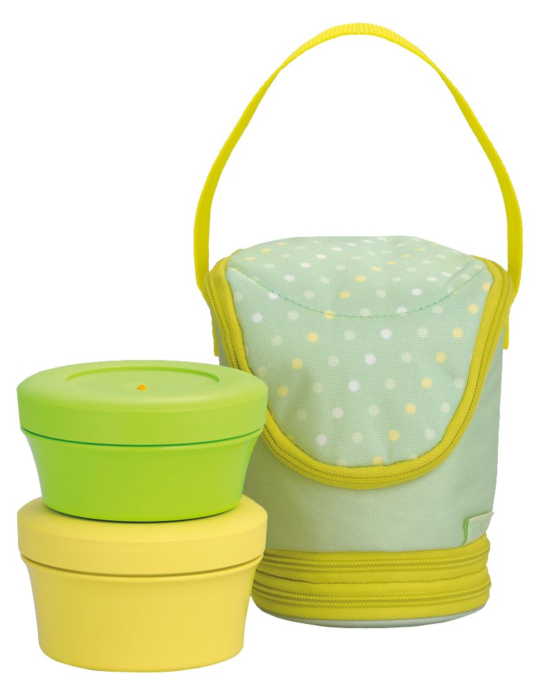 THERMOS Fresh food container 0.545L lime lemon DJI-500 LL (japan import) THERMOS (Thermos)