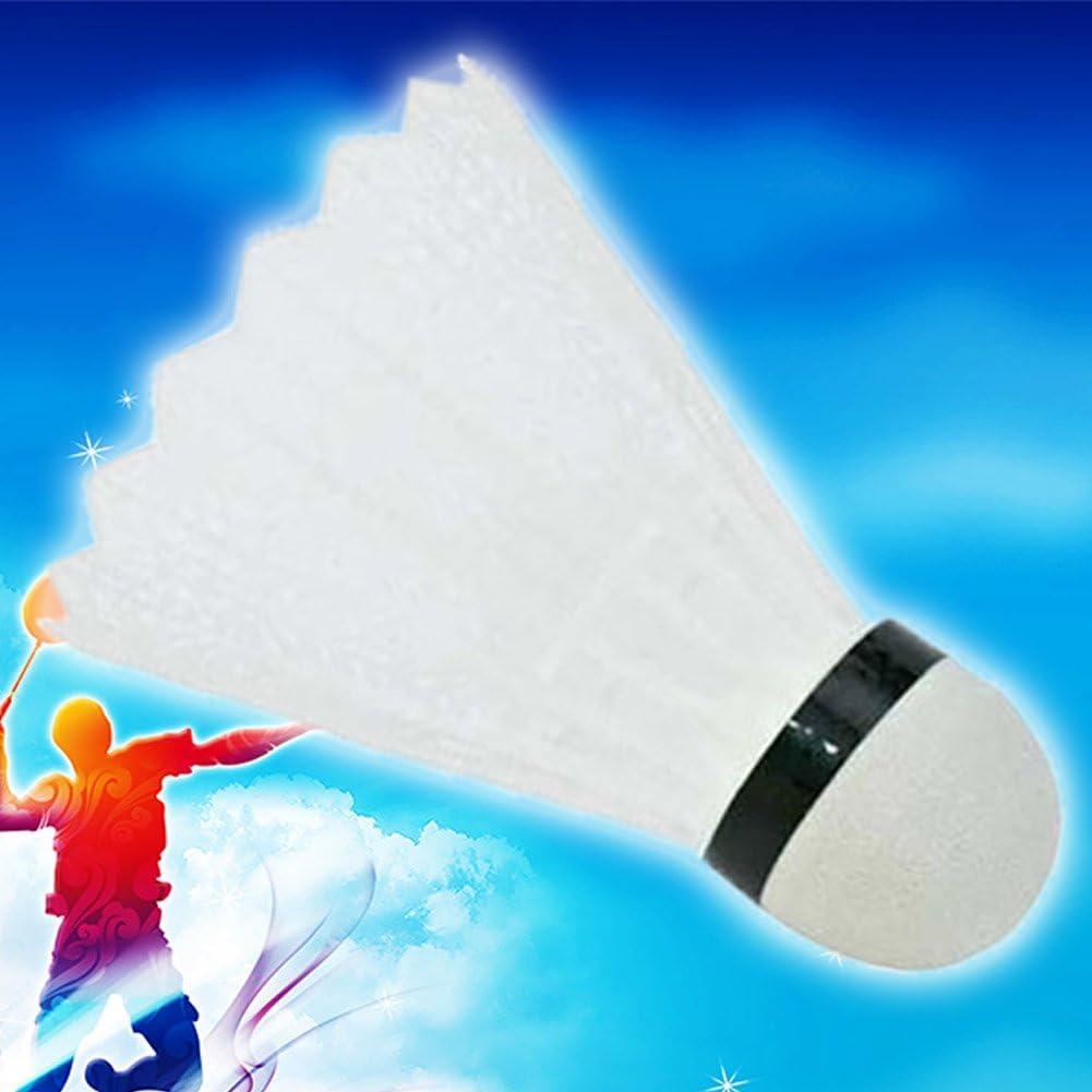 Colore Casuale per Sport Interni ed Esterni Adatto per Bambini o Adulti yangzhoujinbei Volano da Badminton colorato in plastica