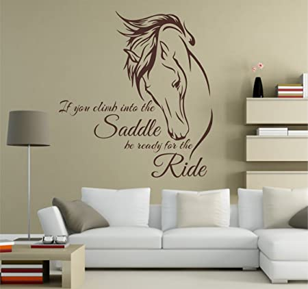 Awesome DecorRooms Horse Wall Decal Horse Deca Horse Art Horse Wall Decals Horse  Decals Equine Art Wall