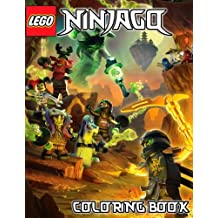 The LEGO NINJAGO: Coloring Book for Kids: 48 illustrations