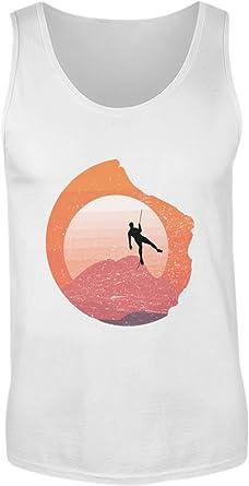 Camiseta de Tirantes para Hombre con diseño de Escalada ...