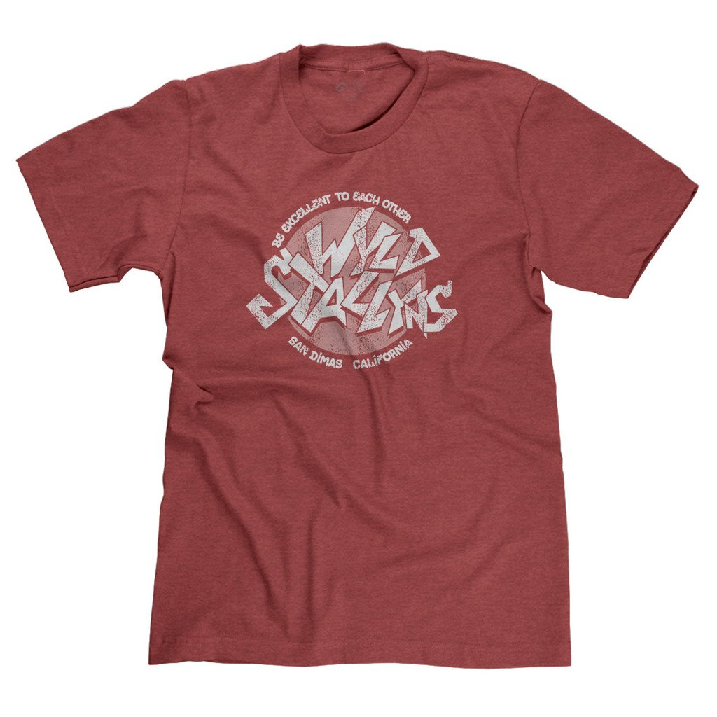 Wyld Stallyns Excellent Rock N Roll Parody S Tshirt