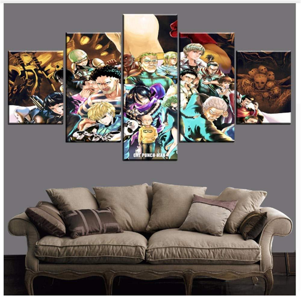 KPWAN Impresiones sobre Lienzo-One-Punch Man Modern Room ...