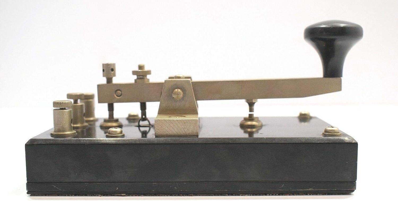 3A Vintage Marine Telegraph Key Morse Key Marine Ship JRC KY