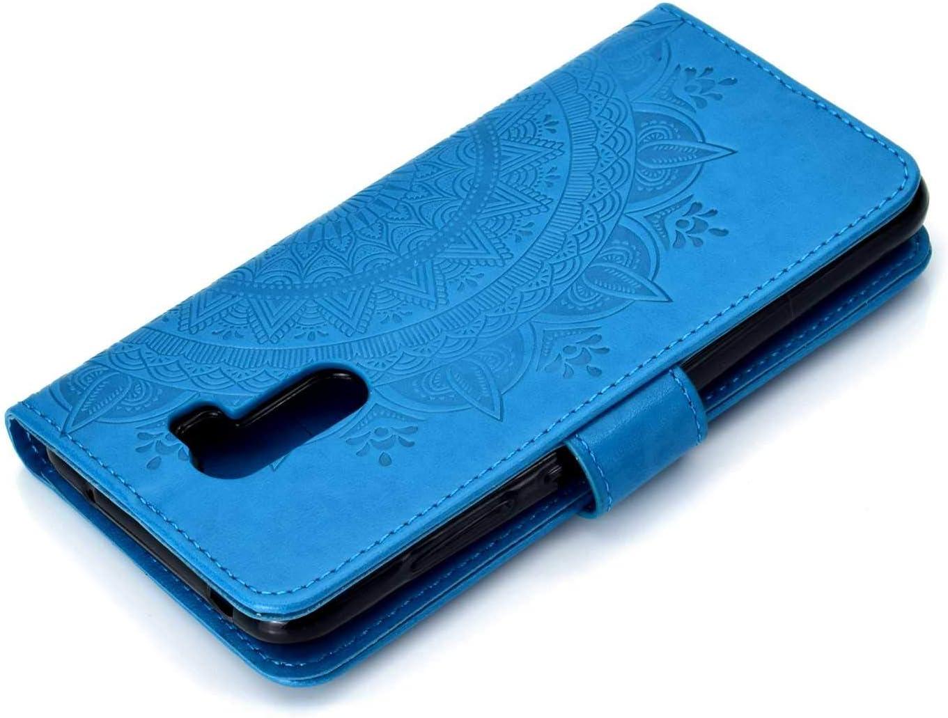 Magnetic Housse avec Fonction de Support pour Xiaomi PocoPhone F1 Bleu The Grafu/® /Étui en Cuir PU Int/érieur en TPU Antichoc Coque Xiaomi PocoPhone F1