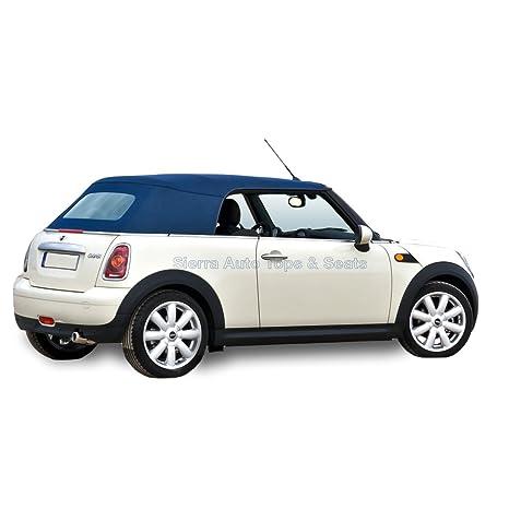 Mini Cooper Convertible Top 04 – 08 – en el original twillfast RPC Gamuza con ventana