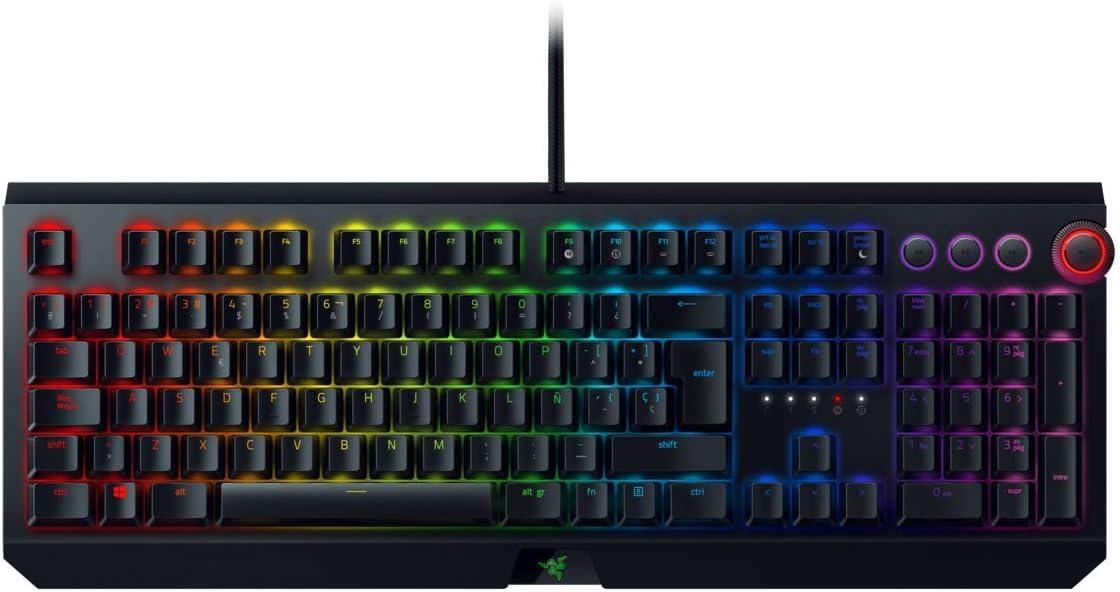 Razer Blackwidow Elite - Teclado Gaming,Teclado Mecánico Para ...