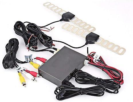 Caja de TV digital para coche, 1080P HD DVB-T2 Caja de TV ...
