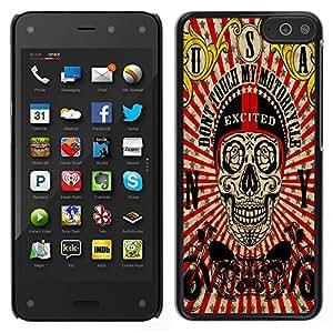 Dragon Case - FOR Amazon Fire Phone - Let me go out - Caja protectora de pl??stico duro de la cubierta Dise?¡Ào Slim Fit