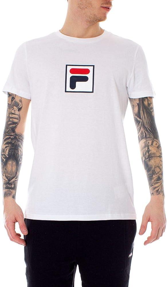 Fila Luxury Fashion - Camiseta de Verano para Hombre - Blanco - tamaño de Marca M INT: Amazon.es: Ropa y accesorios