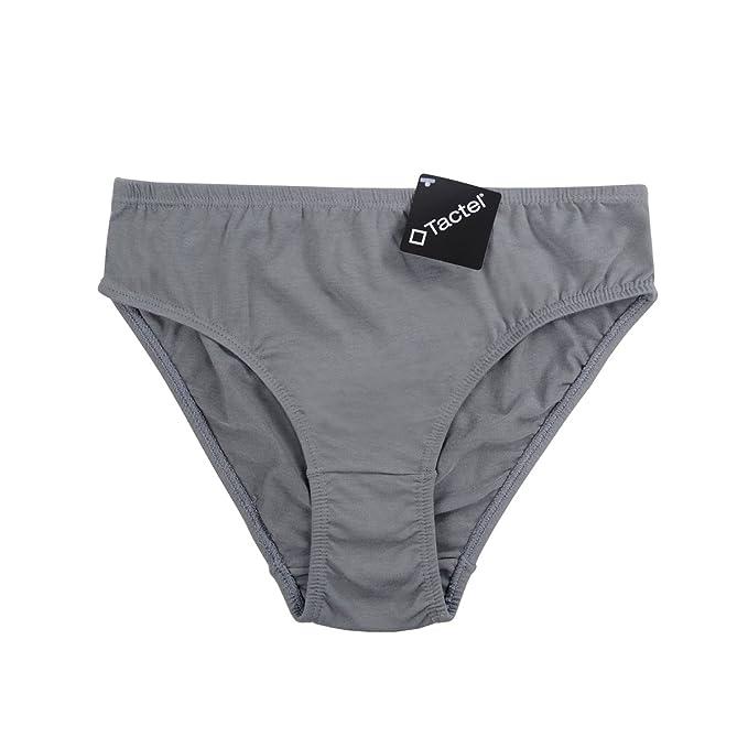 bc0f936684c7 Knitlord Women's Underwear Classic French Cut Bikini Panties, Cotton +  Polyamid Tactel Fiber Briefs 6 Pack (Pueple/Red/Dark Blue/Light Green/Light  Grey/Pink ...