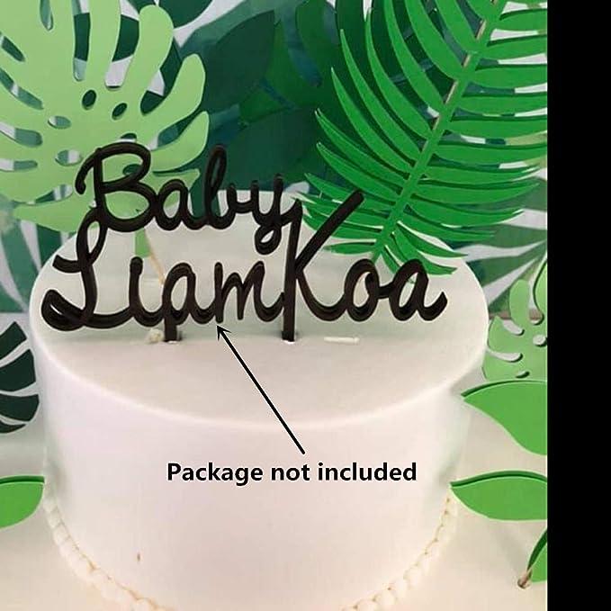 MIZUAN Tropisches Thema Kuchen Dekorationswerkzeug Palmbl/äTter Silikonform Ton Fondantform DIY S/ü/ßIgkeiten Zuckerkekse Schokoladenform Backen