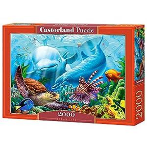 Castorland C 200627 2 Puzzle Ocean Life 2000 Pezzi