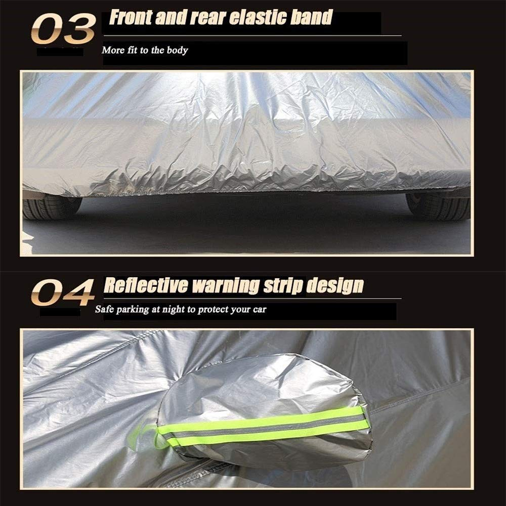 Waterproof Breathable Windproof//Dustproof//Scratch Resistant Outdoor UV Protection Full Car Covers Anti Freeze Car Covers WANGJUNXIU Compatible with Porsche Panamera Car Cover