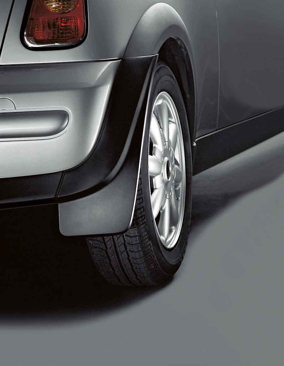 Mini Genuine Mud Flaps Mudsplash Guards Rear Set Fits R50 R52 R53 82160393033