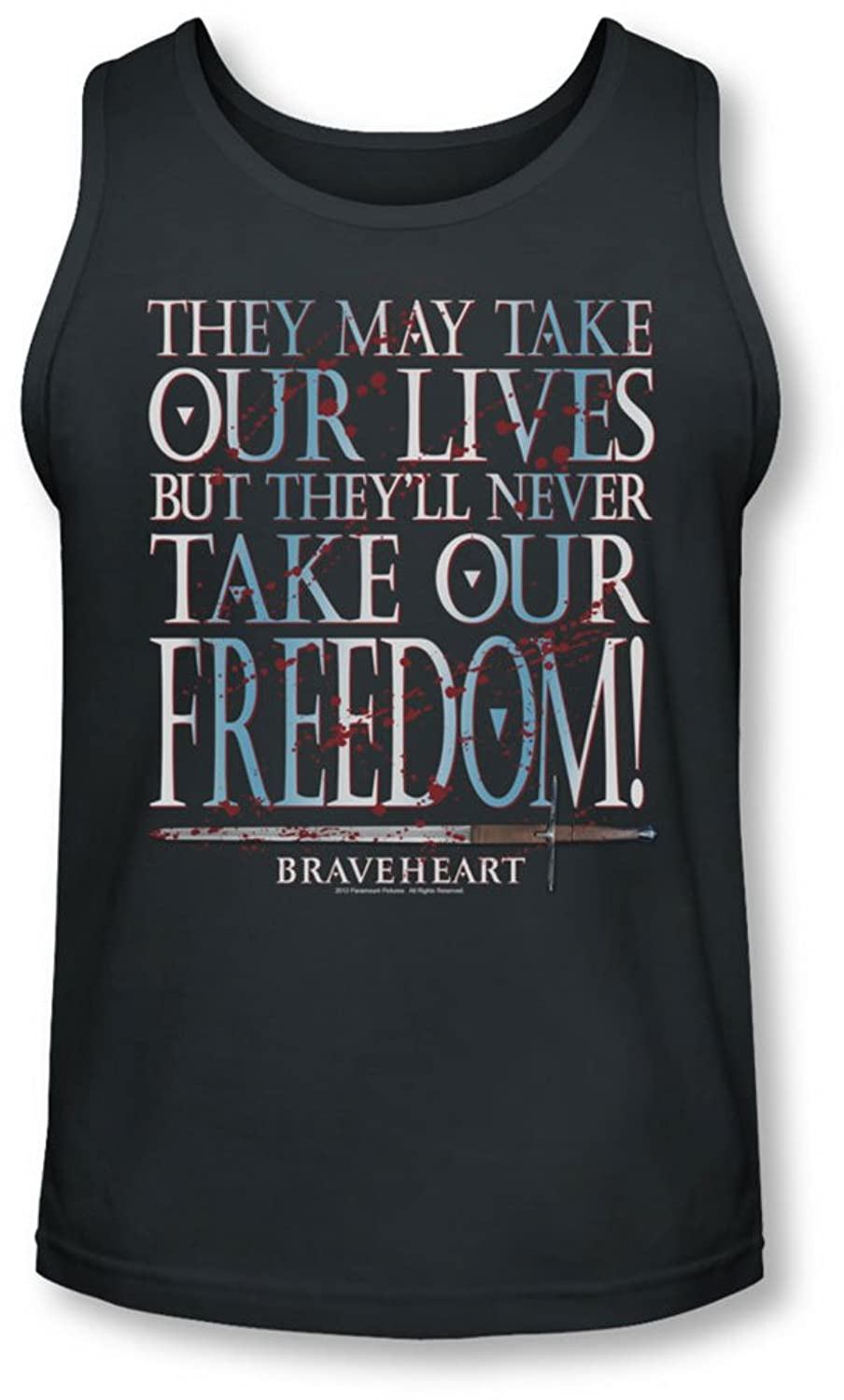 Braveheart - Mens Freedom Tank-Top