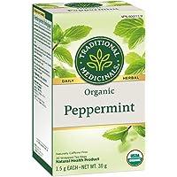 Traditional Medicinals Organic Peppermint, 20 tea bags, 30g