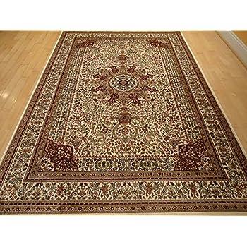Amazon Com Persian Silk Brand Gold Rug Multiple Size Rugs
