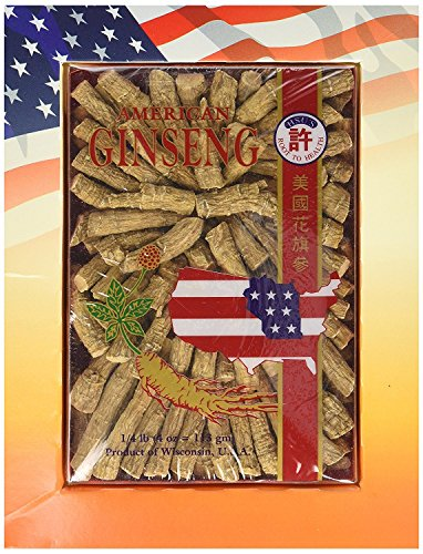 Hsu's Ginseng 122-4, Medium Cultivated American Prong 4oz