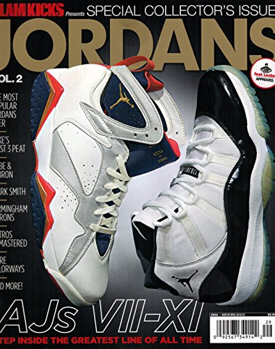 Slam Kicks Presents Jordans Special Collectors [Single Issue Magazine] Vol.2