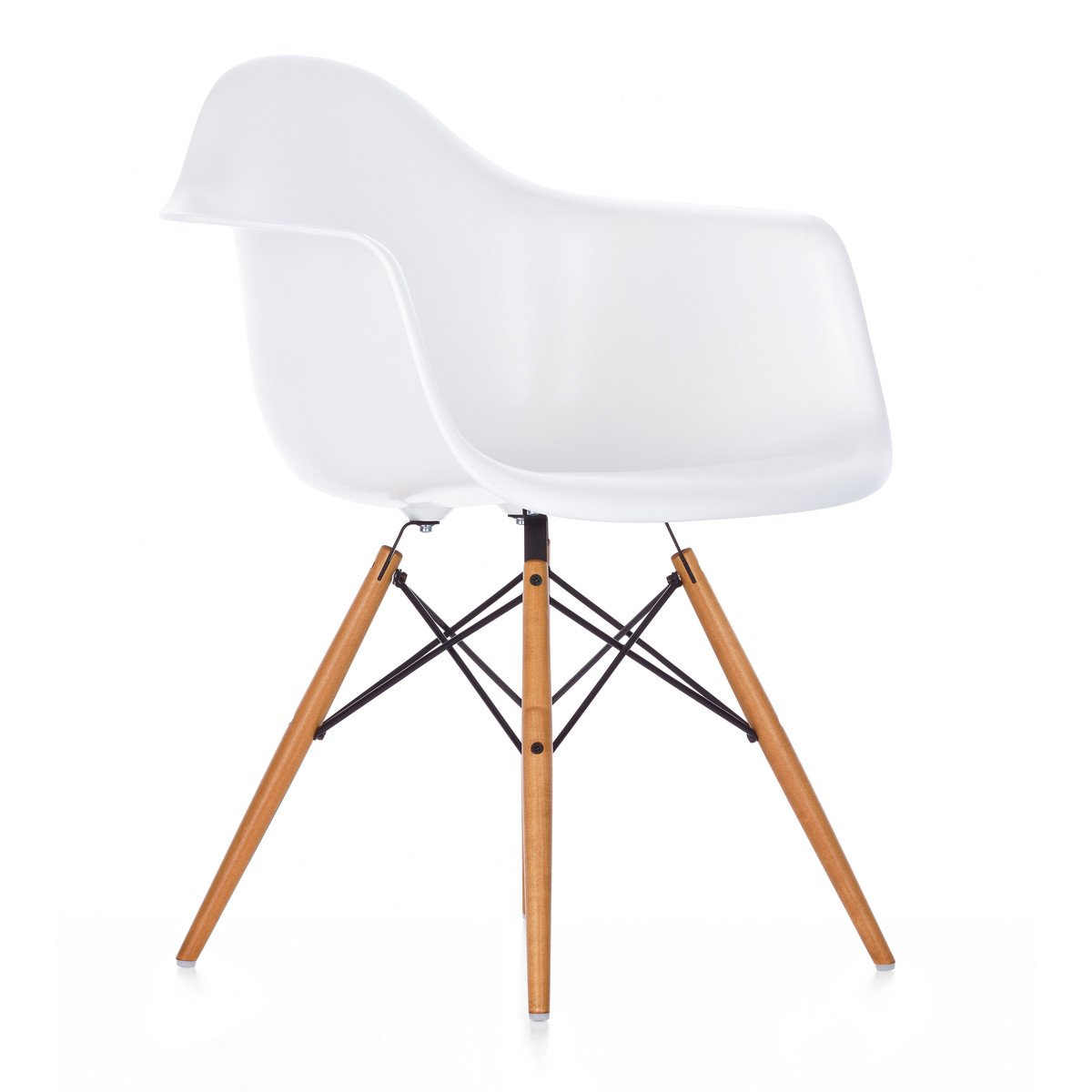 4er SET Eames Eiffel DAW Chair / Eames Stuhl / Eames Chair: Amazon ...